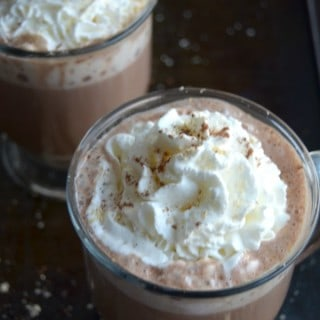 Peanut Butter & Dark Chocolate Hot Cocoa