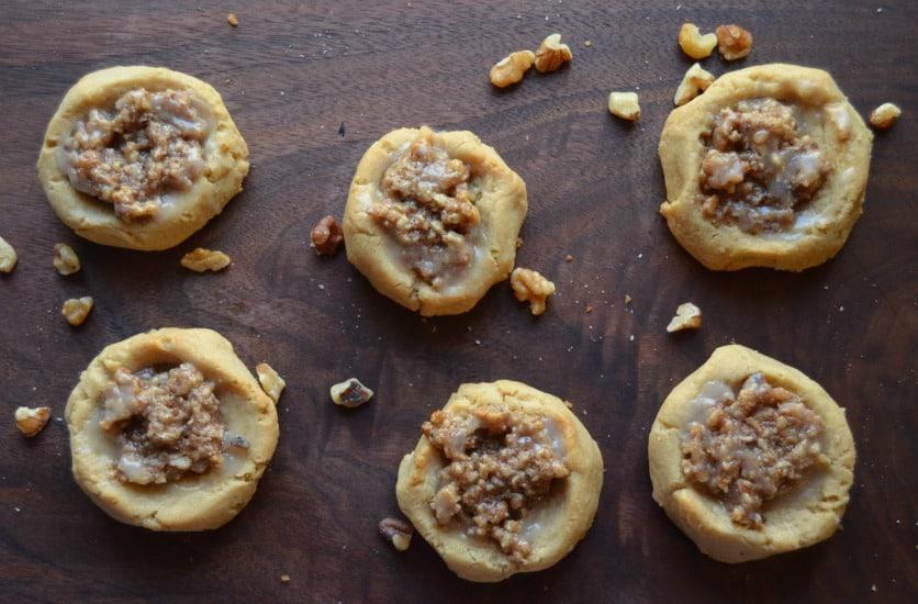 Chewy Walnut Treasure Christmas Cookie Recipe