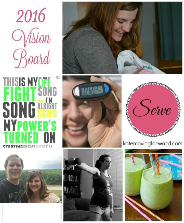 2016 Vision Board and goals
