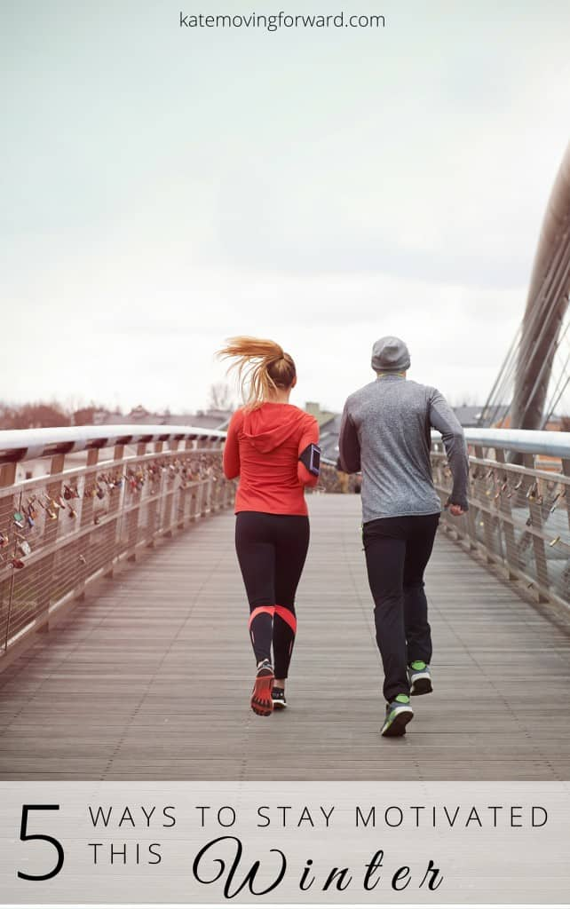 Keep your training going strong this winter with these 5 ways to stay motivated! Fun tips to keep you going even when it's cold and yucky outside.