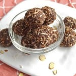 Healthy No Bake Chocolate Energy Bites