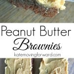Peanut Butter Brownies-- These homemade brownies are the best I've ever had! The perfect mix of chewy and fudgy topped with peanut butter!