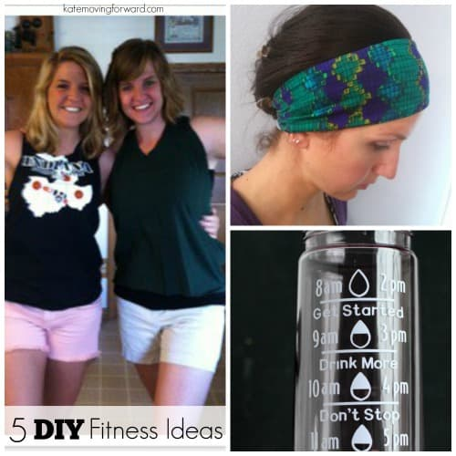 5 DIY Fitness Ideas - fun ideas to create your own fitness clothing and gear!