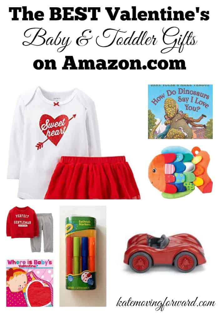 Valentine's Baby and Toddler Gifts - great ideas for clothes, toys, books, and hand-on fun with little ones for Valentine's Day!