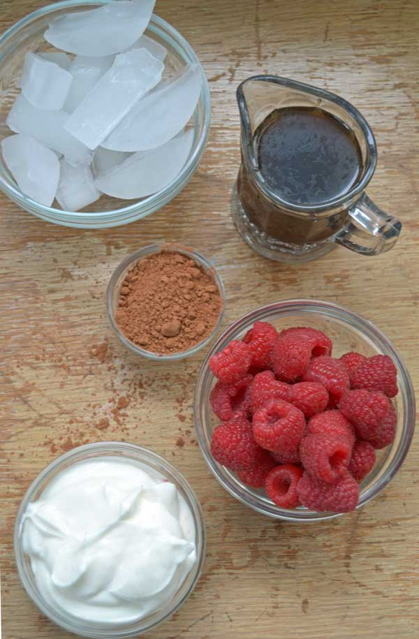 Raspberry Mocha Ingredients