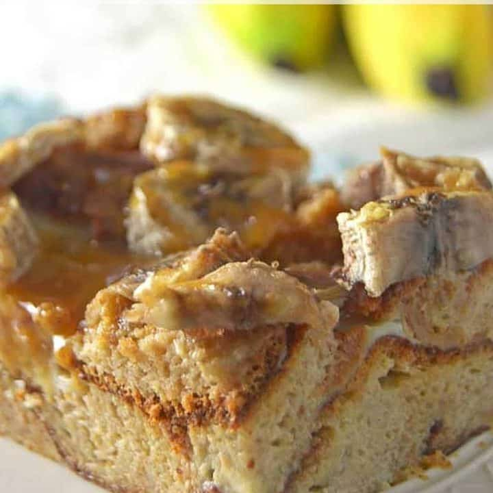 Bananas Foster French Toast Bake -
