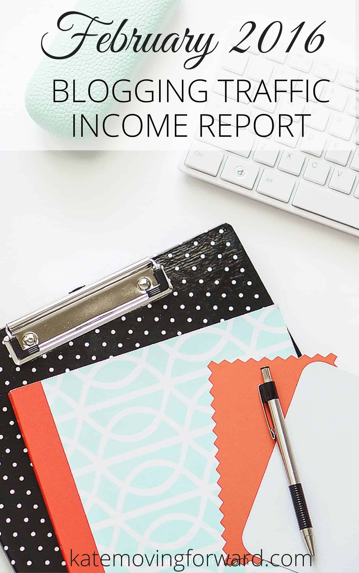 February Blog Income & Traffic Report - Get a behind the scenes look at a small blog making money.