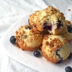 Delicious lemon blueberry muffins! So good!