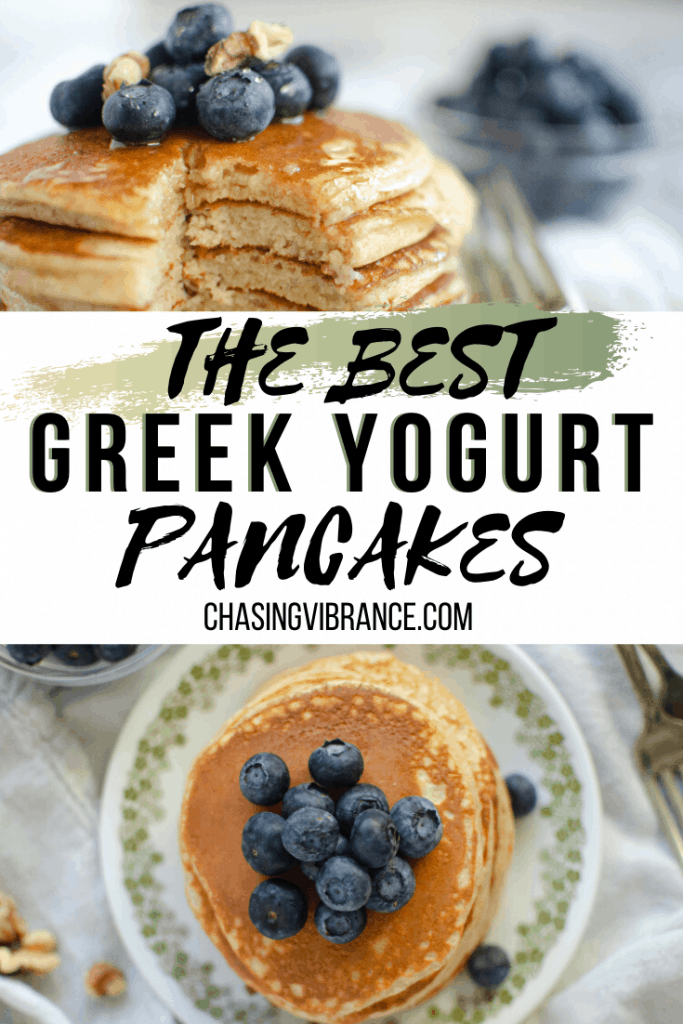 The best pancakes pin for pinterest image collage