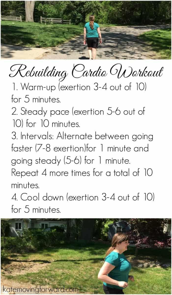 Rebuilding Cardio Workout