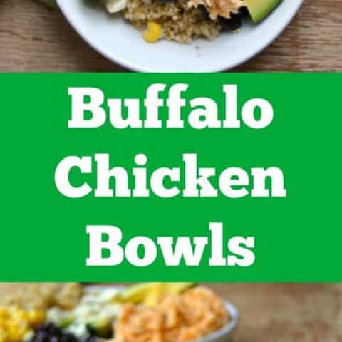 Buffalo Chicken Bowls -