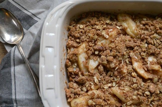 pear crisp easy