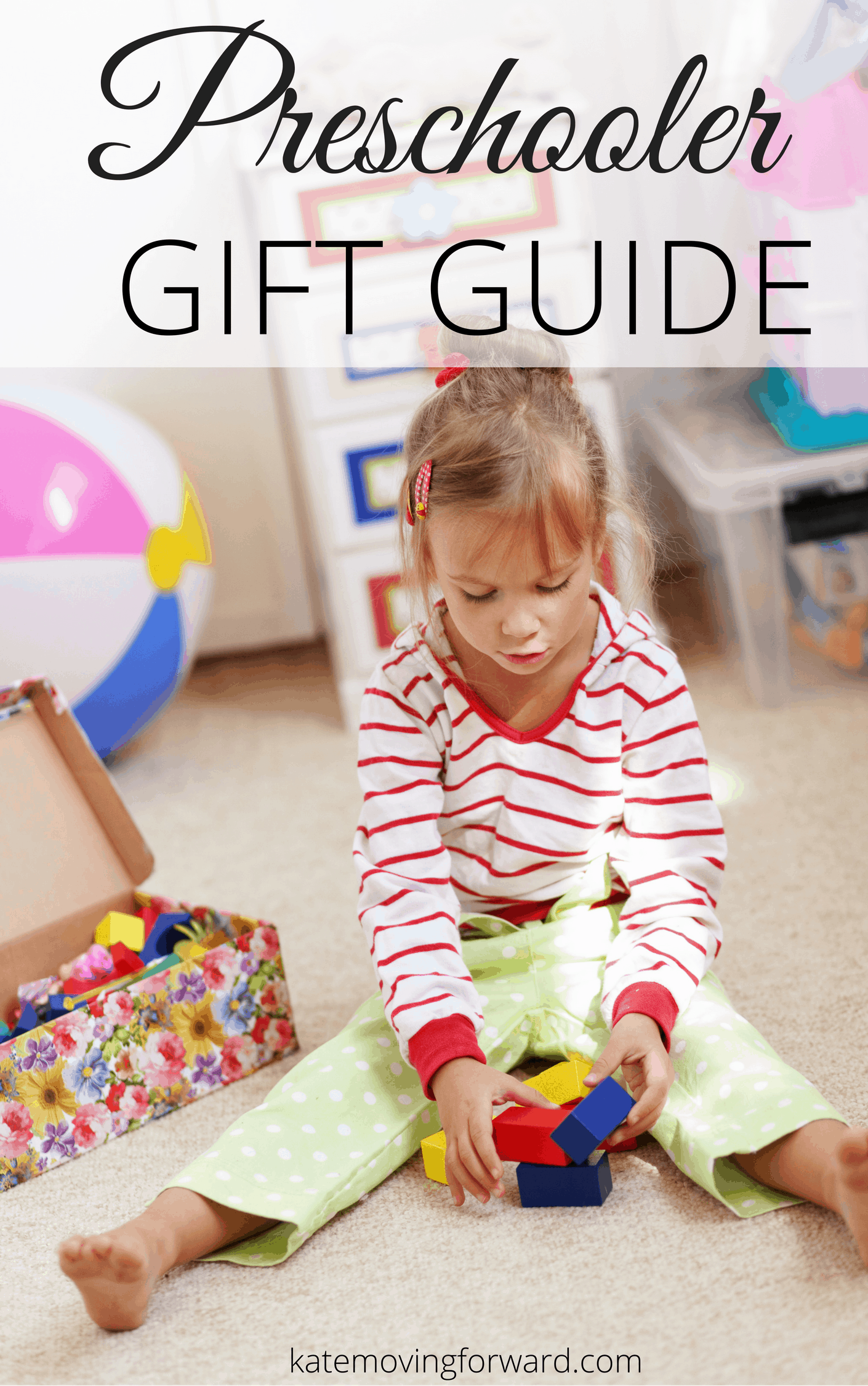 Preschool Gift Guide - Great picks for preschool age children from experienced moms! Educational, imaginative, FUN choices for every kid!