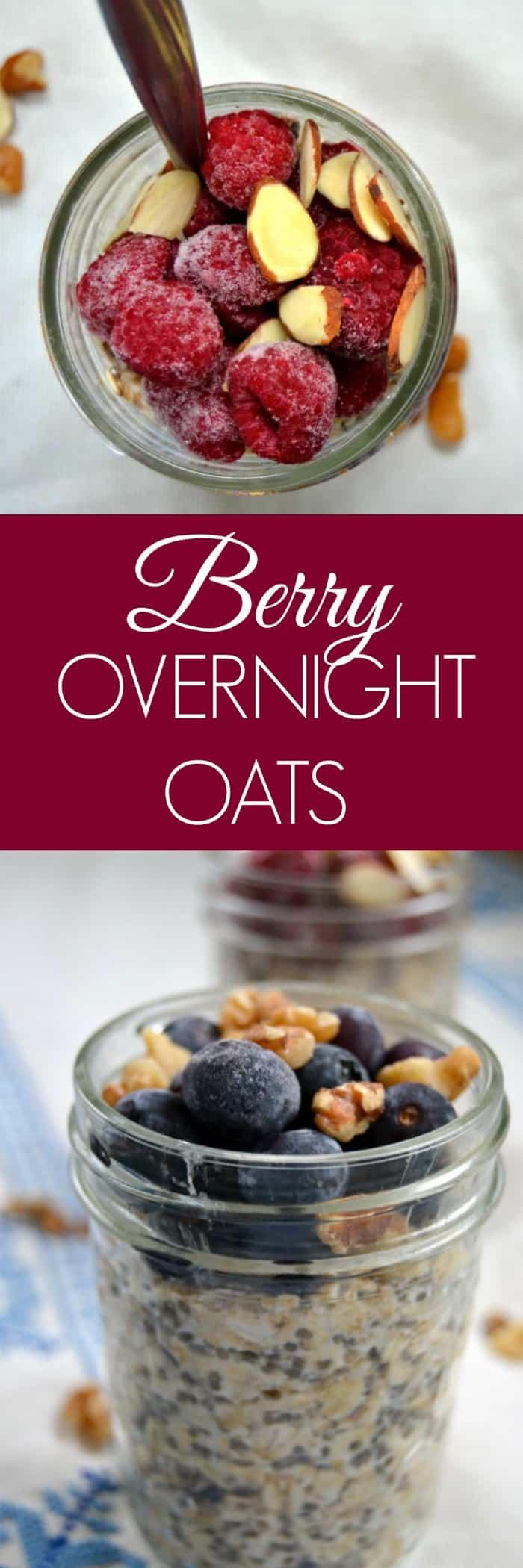 Healthy Overnight Oats Recipe -