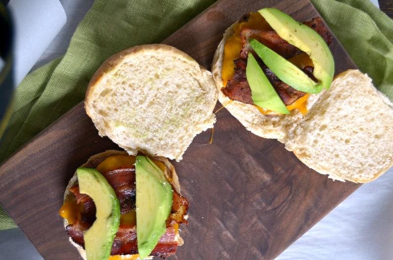 Avocado Bacon Burgers