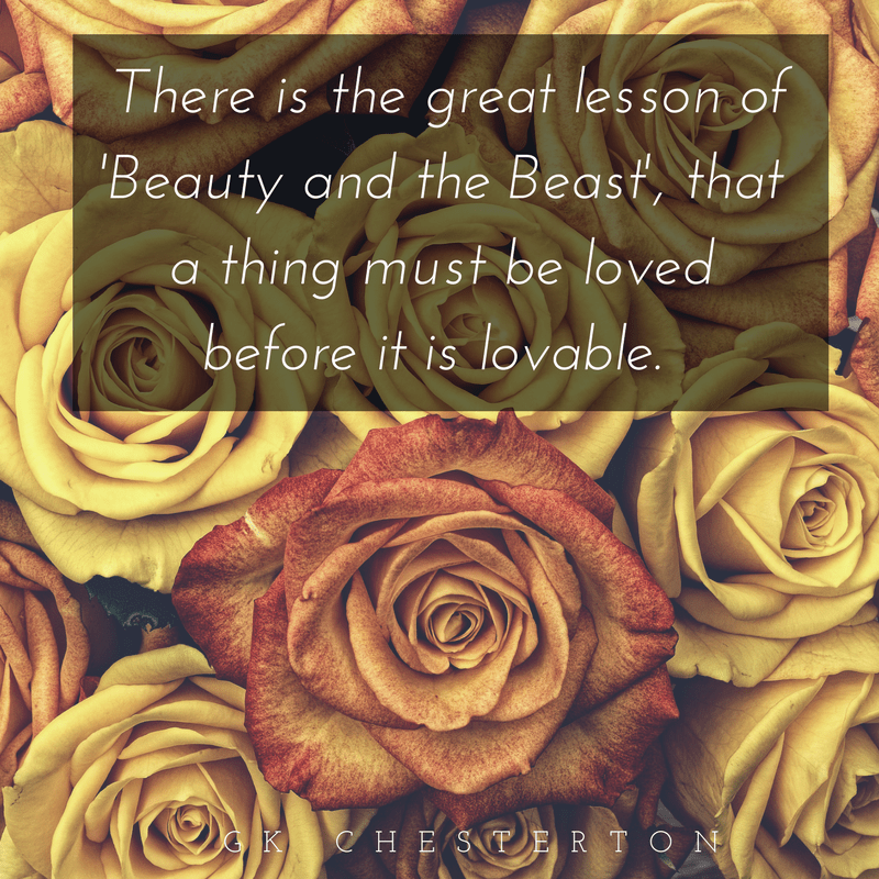 beauty and beast quote