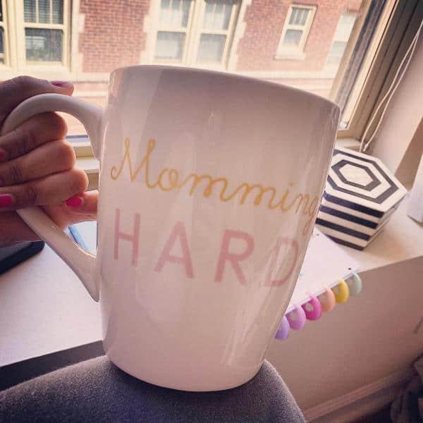 momming hard mug