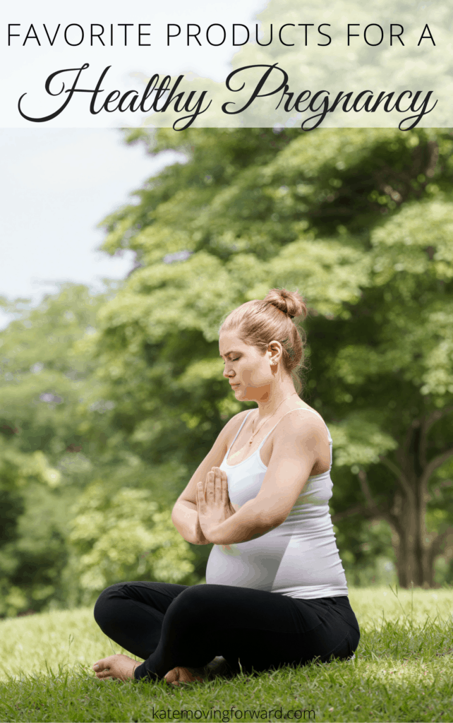 Favorite products for a healthy pregnancy