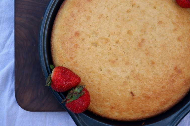 Butter Cake Strawberry Shortcake