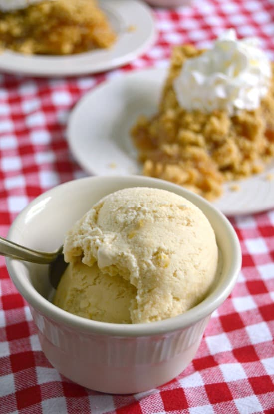 Salted Caramel Homemade Ice Cream - Salted Caramel Ice Cream - Homemade Ice Cream - Caramel Ice Cream - Summer Desserts - Ice Cream Recipes