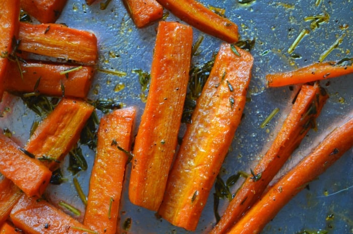 thanksgiving carrots