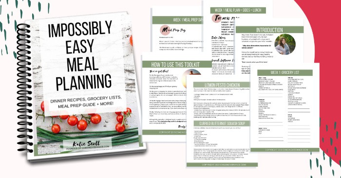 Impossibly easy meal planning bundles of resources