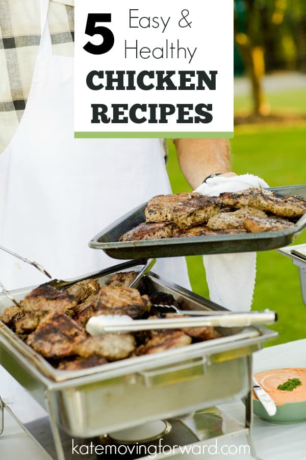 5 Easy and Healthy Chicken Recipes - Great chicken breast recipes to whip up a delicious and healthy dinner FAST!