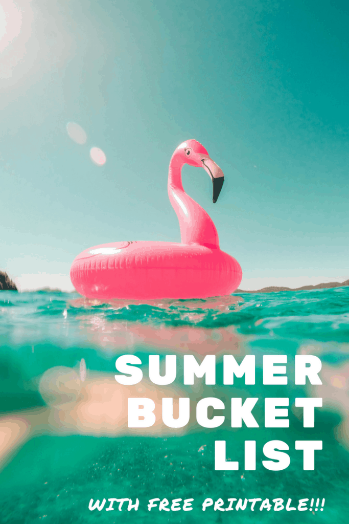 Summer Bucket List - Live intentionally this summer! This free printable summer bucket list can help!