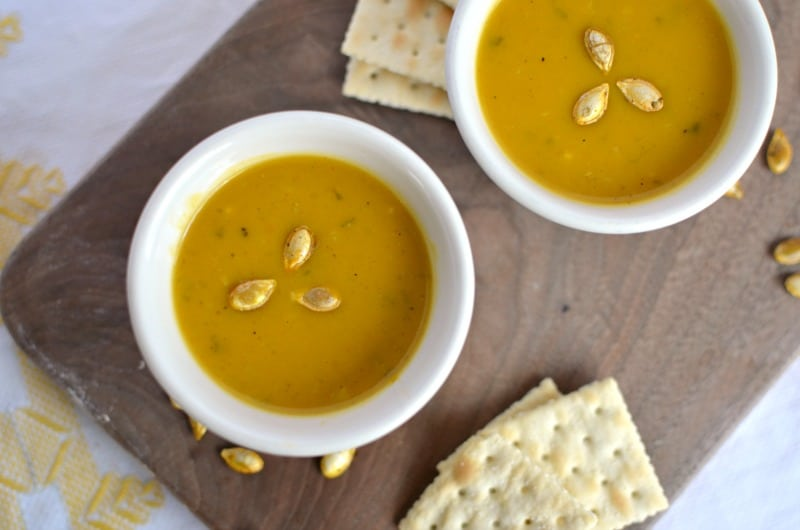 Curried Butternut Squash Soup - Delicious!