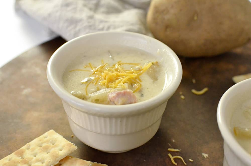Potato Soup in Slow Cooker