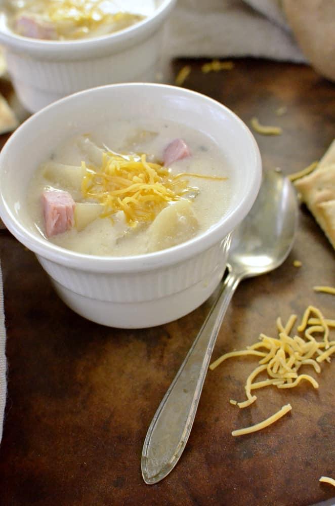 Potato Soup delicious!