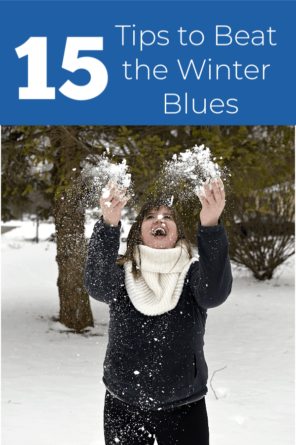15 tips to beat the winter blues