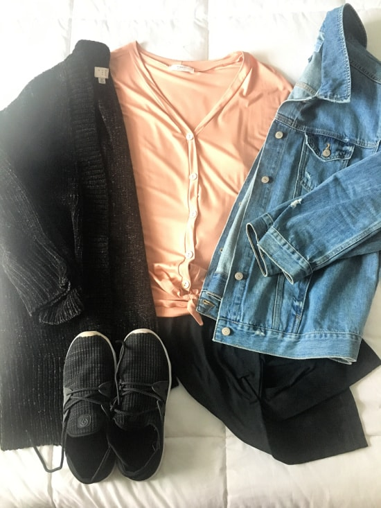 transitional spring outfit ideas