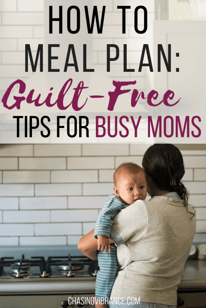 How to meal plan for busy moms