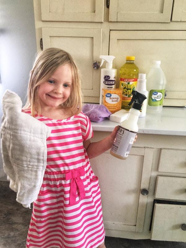 Layla cleaning helper