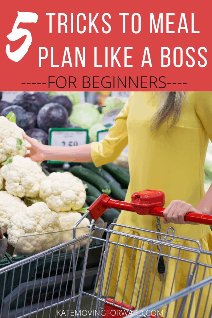 Meal Planning Ideas - to meal plan like a boss!