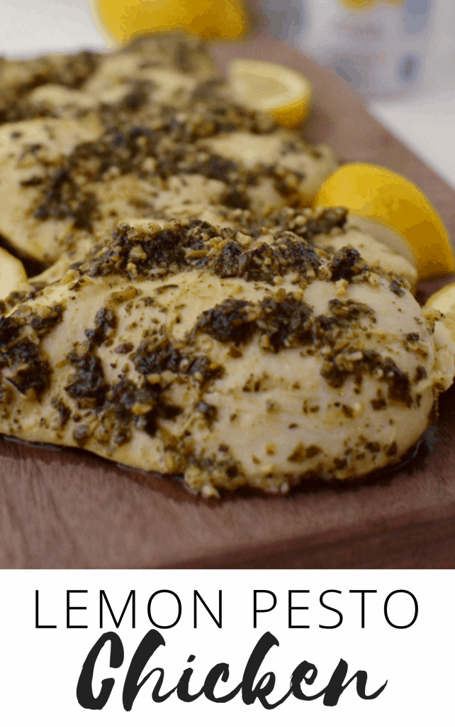 Lemon Pesto Chicken Recipe