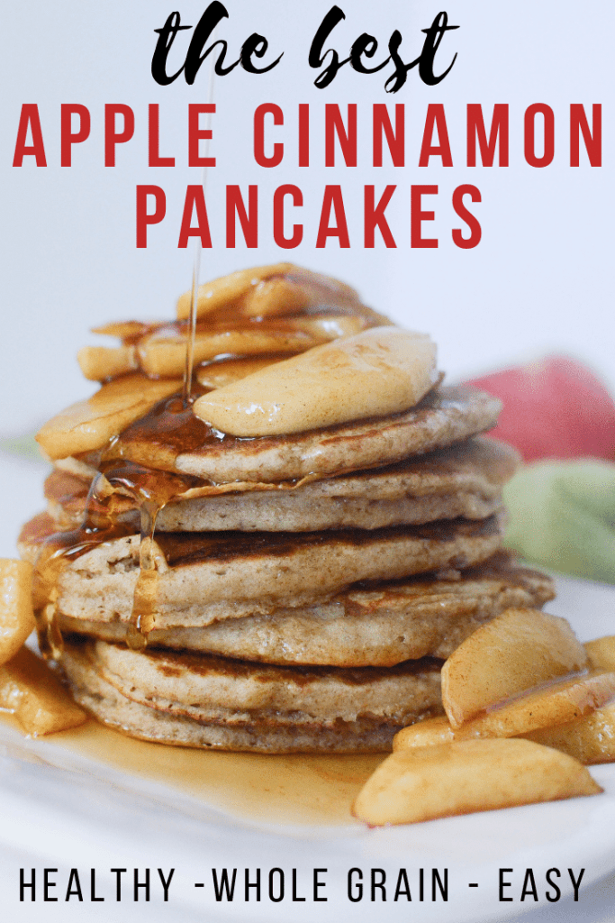 Apple Cinnamon Pancakes