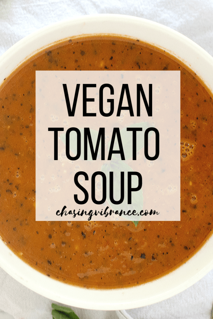 Vegan tomato soup